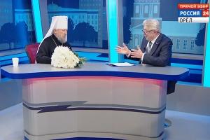 К юбилею Высокопреосвященнейшего митрополита Антония. Интервью в программе «Контакт»