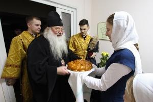 Митрополит Тихон совершил литургию в домовом храме Болховской православной гимназии-пансиона