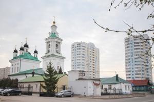 Архипастырь возглавил Литургию Преждеосвященных Даров в Великий Понедельник