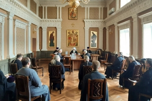 Состоялось заседание Епархиального совета Орловской епархии