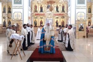 В Смоленском храме молились о новопреставленном протоиерее Николае Коваленко