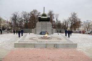 Митрополит Тихон почтил память Неизвестного солдата