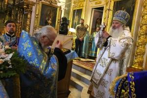 Митрополит Тихон поздравил духовника Орловской епархии протоиерея Александра Секретарева с днем рождения и тезоименитства
