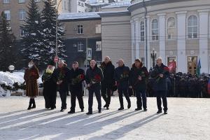 Владыка Тихон участвовал в мероприятиях в память погибших защитников Отечества