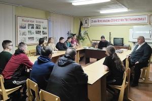 Во Мценске возобновились евангельские беседы с казачьей молодежью