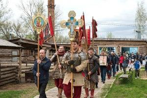 «Богатырский» крестный ход, пасхальная регата, единоборства и большой концерт: в Орле состоялся 19-й фестиваль «Святой Георгий»