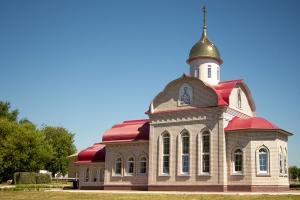 Митрополит Тихон освятил храм во имя великомученика Георгия Победоносца на территории войсковой части № 03013