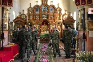Сотрудники УФСИН посетили Воскресенский храм