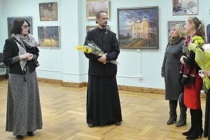 Орловский священник представит выставку пейзажей, написанных в путешествиях по России