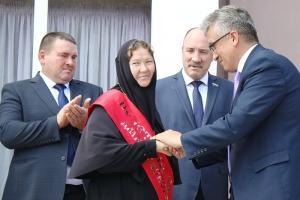 Местные жители попросили наградить игумению монастыря св. Ксении званием «Почетный гражданин района»: обитель много помогает нуждающимся