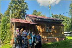 Урицкие пенсионеры побывали в месте духовных подвигов святого Георгия Коссова