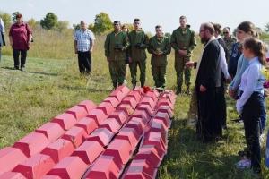 Герои Великой Отечественной войны преданы земле по христианскому обряду во Мценском районе