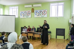 В Орловской православной гимназии прошел «Олимпийский урок»