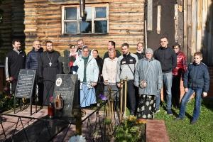 Орловцы помолились и потрудились в месте духовных подвигов  Георгия Коссова