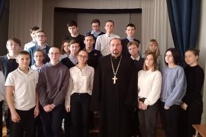 Ученики орловской школы познакомились с социальным служением Церкви