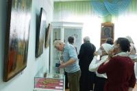 Выставочный проект «Культурные и духовные ценности православных храмов Орловщины» открылся в Орловском областном краеведческом музее. 27 мая 2021 г.