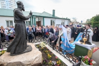 В Орле открыт и освящен памятник архимандриту Иоанну (Крестьянкину). 10 июня 2021 г.