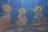 Митрополит Орловский и Болховский Тихон совершил чин малого освящения храма в честь Собора Орловских святых на территории Ахтырского кафедрального собора. 15 июля 2021 г.
