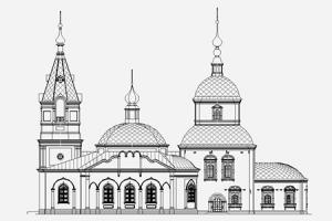 Храм Благовещения Пресвятой Богородицы г. Болхова (разрушенный)