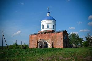 Никольский храм с. Борилово