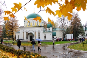 храм во имя святителя Луки Крымского (больничный) в Областной клинической больни