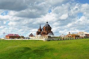 Свято-Духов мужской монастырь Новосильского района