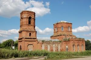 Храм Иоанна Богослова в с. Тим Должанского района